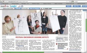 Northcote Leader Visual Arts Festival