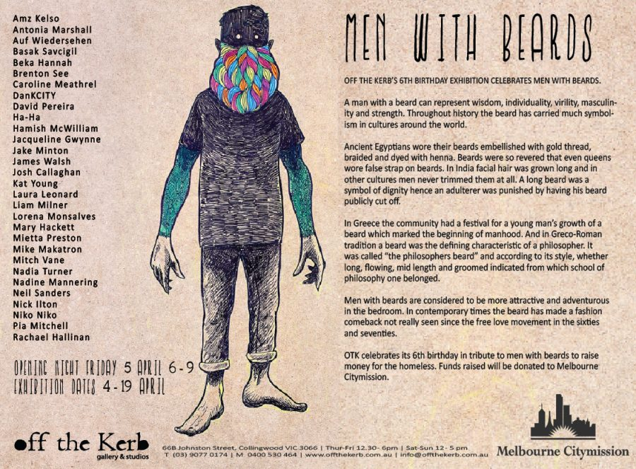 MEN WITH BEARDS EXHIBITION