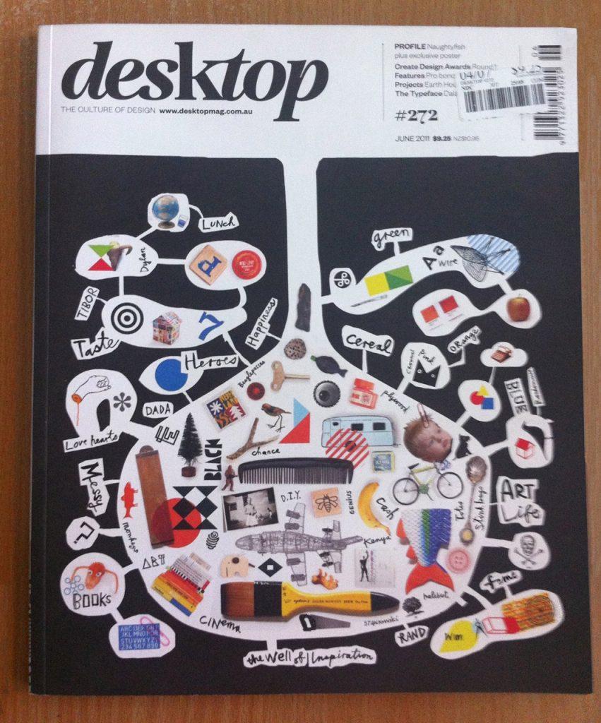desktop magazine cover
